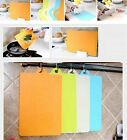Kitchen Lightweight Plastic Chopping Mats Vegetable Fruit Cutting Board Tool B