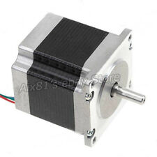 DC24V Nema 23 Stepper Motor Single Shaft 12.6Kgcm 1.8Degre 4Leads 56mm 4 Channel