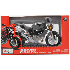 MAISTO 1:12 DUCATI MONSTER 696 2011 DIECAST BIKE BLACK