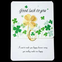 Pretty Four-leaf Clover Reading Metal Clip Bookmark Gift Book Mark For Kids