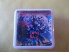 IRON MAIDEN THE NUMBER OF THE BEAST  ALBUM COVER    BADGE PIN
