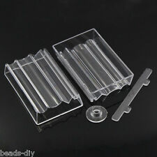 BD 2 Sets Bead Roller For Making Polymer Clay Beads Transparent