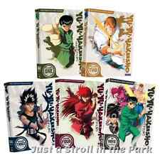 Yu Yu Hakusho: Complete Series Seasons 1 2 3 4 + Movie Box / DVD Set(s) NEW!