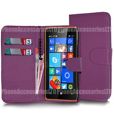 For Samsung Galaxy Phone Models - Wallet Leather Case Cover Book + Screen Guard