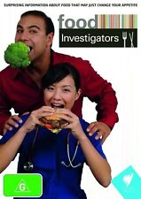 Food Investigators (DVD, 2009, 2-Disc Set) All Regions Brand New Sealed Free Pos