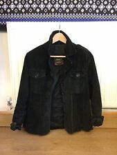 Ragged Real Leather Jacket Suede Authentic Women's M medium