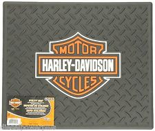 harley davidson utility mat tread hd shop garage back rear motorcycle floor matt