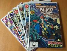 Armageddon Alien Agenda run 1-4 (1,2,3,4) plus 2001 Special 1-2 Very Fine+ 8.5