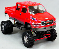 Axial SCX10 1/10th RC Truck  GMC TOP KICK DUALLY 4WD 1.9 Rock Crawler 8.4V SWB
