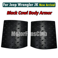 Neuf Noir Cowl Body Armor Cover Pour Jeep Wrangler JK & Unlimited 2007-2015