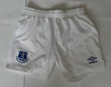 EVERTON 2014/15 HOME SHORTS NO.20 BY UMBRO SIZE SMALL BRAND NEW WITH TAGS