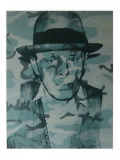 ANDY WARHOL - Joseph Beuys - POP ART PRINT Offset Lithograph Poster OUT OF PRINT