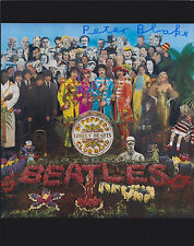 Peter Blake HAND SIGNED 8x10 Photo, Autograph, Sgt Pepper Artist, The Beatles