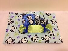 PANDA BEDDING SET FOR BARBIE, MONSTER HIGH, OR BRATZ DOLLS