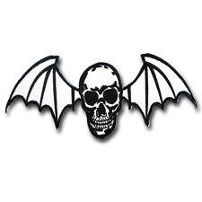 Bat Skull Avenged Sevenfold Patch Iron on Rider Harley Rock Vest Chopper Punk V2
