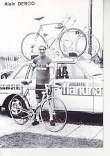 CYCLISME carte alain DEROO  (equipe flandria ca va seul )  1979