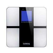 Lumsing 400lb LED Digital Smart Weight Scales Body Fat Bone Muscle BMI Analyzer