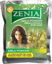 BUY 5 GET 1 FREE 200g Zenia Pure Amla Powder Hair Loss  No Chemical