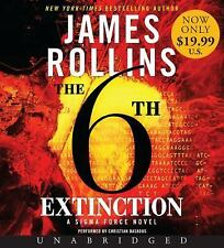 Sigma Force Novels: The 6th Extinction 9 by James Rollins (2015, CD, Unabridged)