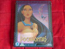 NEW SEALED Blu-ray Region A B C Disney Pocahontas Limited Edition Steelbook