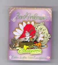 Disney Disneyland Paris The Aristocats Marie Tolouse Berlioz Kittens Music Pin