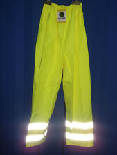 HYDRO-FLO YELLOW HI-VIS WATERPROOF OVER TROUSERS SIZE EX.EX.E.X LARGE BNWT