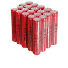 Lot 20x 18650 GTL Li-ion 5300mAh 3.7V Rechargeable Battery for LED Torch NEW