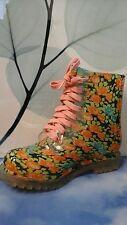 Children Floral Print  BONGO Rain Boots Size 7