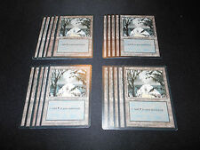 20x Basic Land*SAME ART*Swamp*Ice Age**Magic the Gathering MTG**FTG