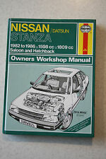V. bon marché - 824. haynes, nissan/datsun stanza 1982 à 1986 owners workshop manual