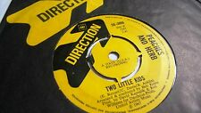 PEACHES AND HERB LOVE IS STRANGE c/w TWO LITTLE KIDS DRECTION LABEL 1967