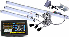 3 Axis Digital Readout + TTL Linear Scale Complete DRO kits For CNC Mill, Lathe