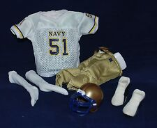 "American Football Outfit for 1/6 scale 12"" Action Figure Man. BBI Dragon Navy"