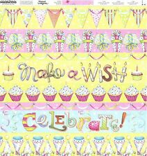 Creative Imaginations- Make a Wish Scrapbooking Paper - 29344 Birthday