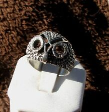 Sterling Silver fashion Owl ring with Big Eyes, reduced price!