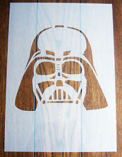 Darth Vader Stencil MASK riutilizzabili MYLAR Fogli per Arts and Crafts, fai da te