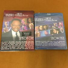 NEW Legends of Jazz with Ramsey Lewis Entire Season 3 DVD discs BONUS BluRay