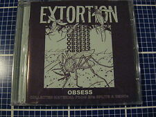 EXTORTION Obsess CD Australia Infest Lack Of Interest Low Threat Profile