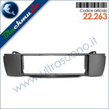 Mascherina supporto autoradio ISO Bmw Z4 Roadster (E85 2002-2009) colore grigio