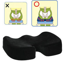 Coccyx Orthopedic Memory Foam Seat Cushion Offic Chair Car Seat Pain Relief KN@