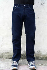 LEVIS 551 VINTAGE CORDUROY DENIM NAVY BLUE JEANS STRAIGHT LEG RED TAB W32 L28
