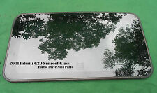 2001 INFINITI G20  OEM FACTORY SUNROOF GLASS  NO ACCIDENT  FREE SHIPPING