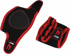 RDX Weight Lifting Grips Training Gym Straps Gloves Hand Wrist Support Hand RD
