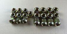 Kugelbundmuttern Radmuttern M14 und M18 gelb verzinkt Deutz F1 F2 D25
