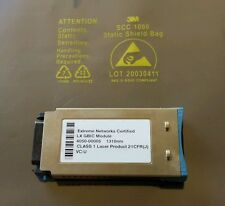 Extreme Networks Multi-Mode LX GBIC Transceiver 4050-00005 Gigabit Module 1310nm