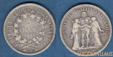 II République, 1848 - 1852 - 5 Francs Hercule 1848 A Paris TB / TTB