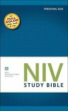 NIV Study Bible by Zondervan Bibles Staff (2011, Hardcover, Special)