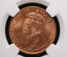 Canada, 1914 Large Cent, NGC MS-63 RB                                        6gm