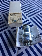 RUSSELLSTOLL 8023N EVER-LOK CONNECTOR 20A 125V 2W3P  NEW IN BOX