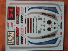 1:12 Decalsatz Kawasaki GPZ400R Tamiya 14045 new